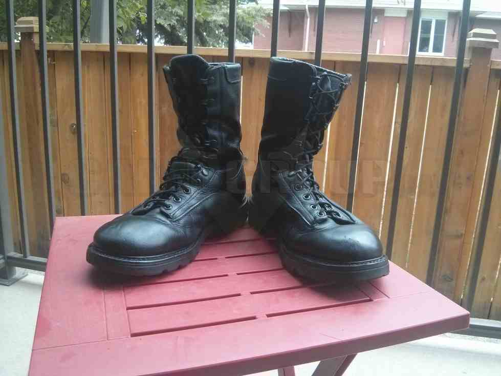 Canadian Army Mk4 Combat Boot Central Alberta Military