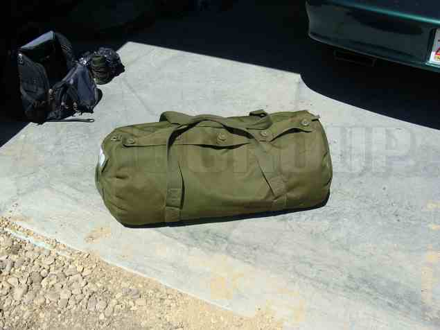 Canadian paratrooper duffel bag | Central