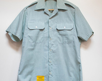 99849d9fc69d Canadian Army Green Dress Shirt
