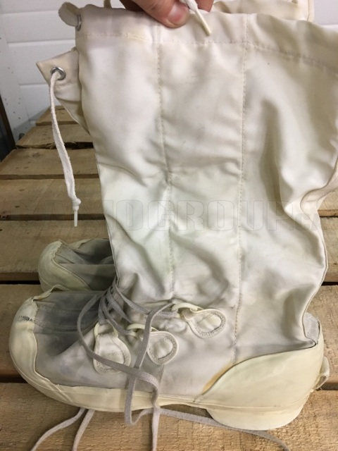 Canadian Army Winter White Mukluks Incomplete Central