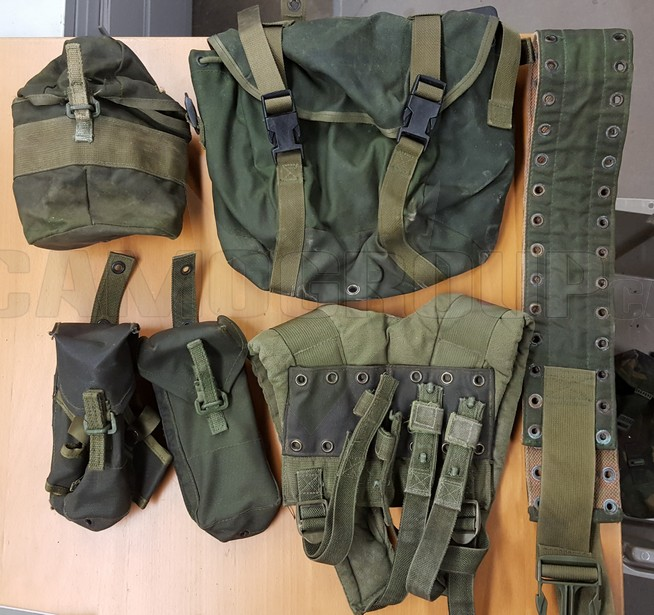 Canadain Army 82 Pattern Webbing gear ALICE LBE | Central Alberta Military Outlet