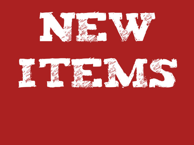 New store items Central Alberta Military Outlet