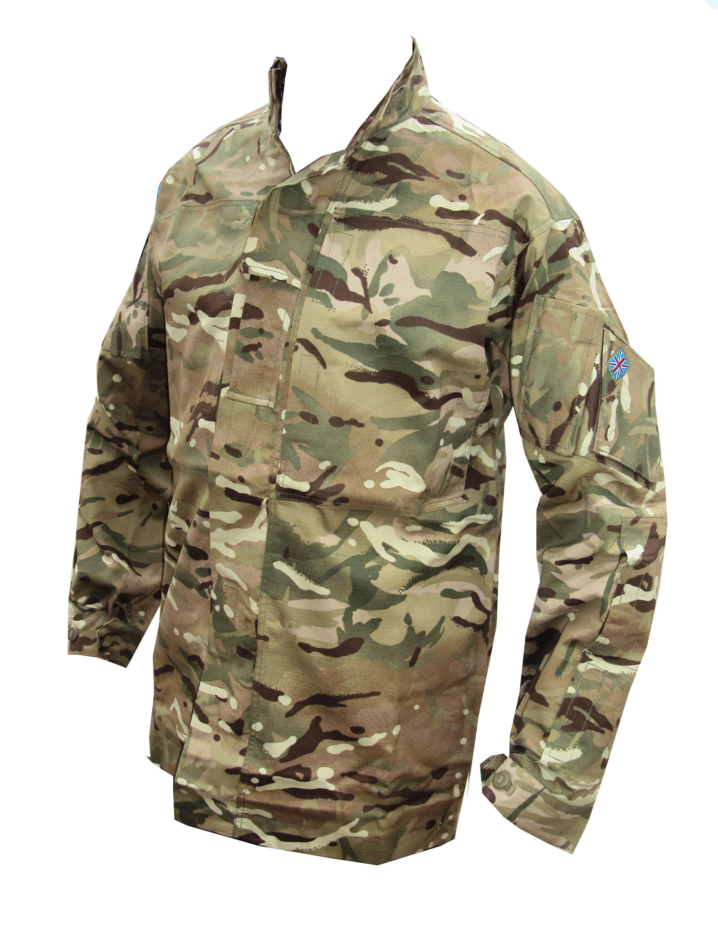 Multicam Lightweight Field Jacket / Combat Shirt | Central Alberta ...